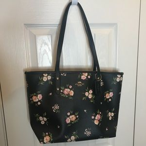 Floral COACH bag NWT